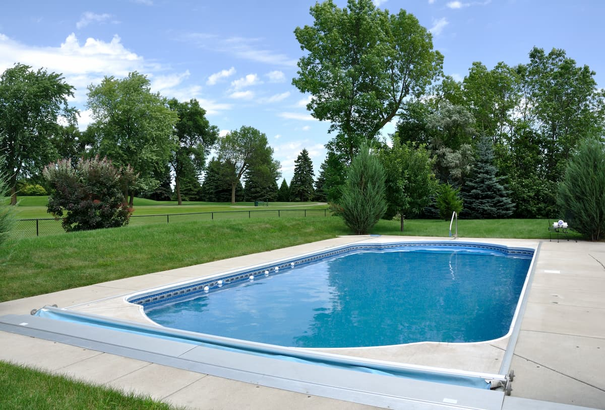 Backyard In-Ground Swimming Pool - Above-Ground vs In-Ground Pools